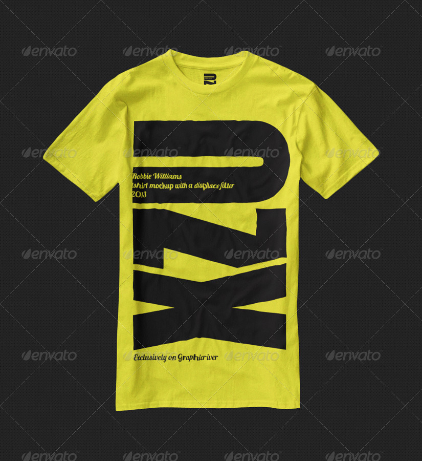 T shirt mock up 2013 by robbiewilliams graphicriver for T shirt mock ups