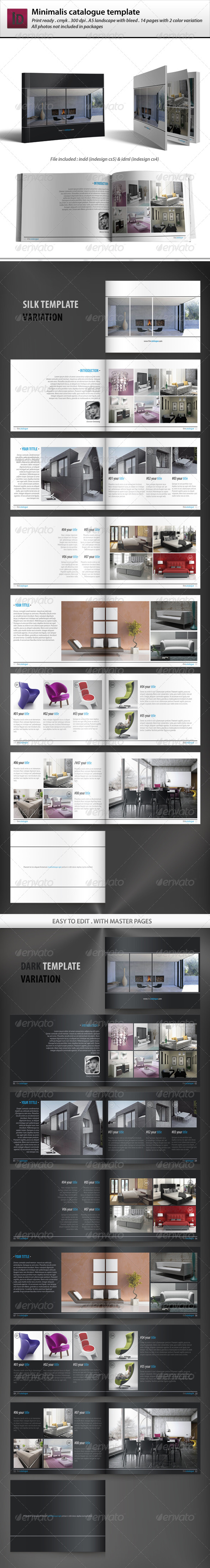 Minimalis Catalogue Template - Catalogs Brochures