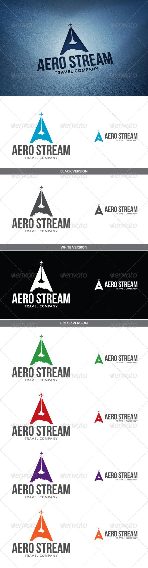 Aero Stream - Letters Logo Templates