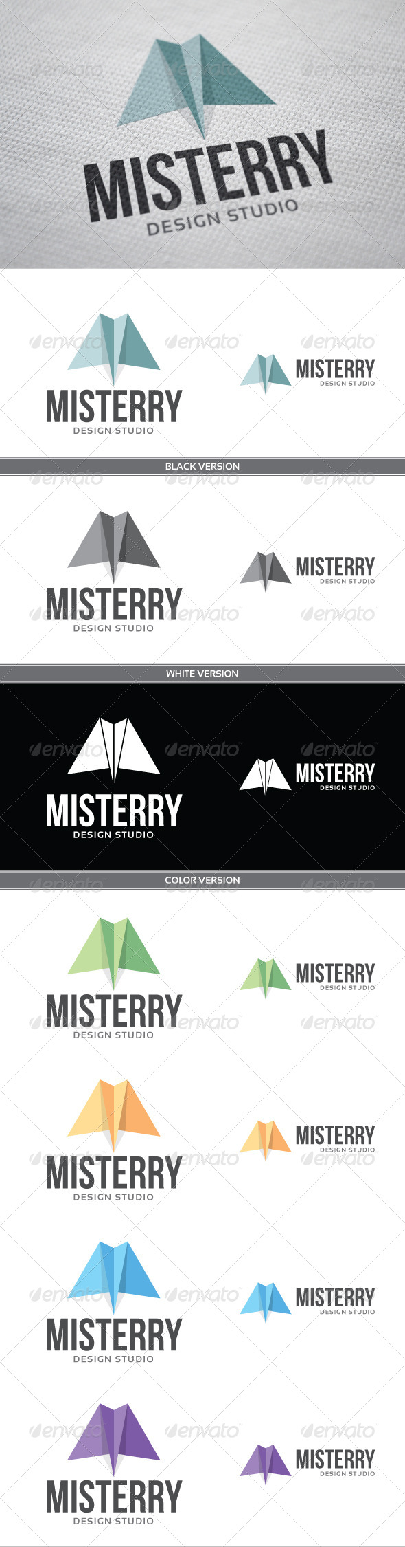 Misterry - Letters Logo Templates