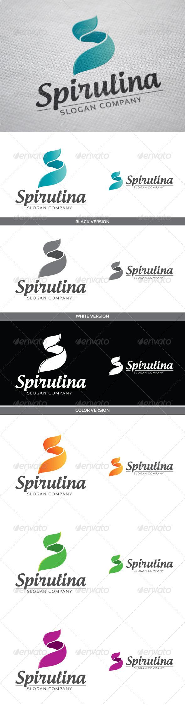 Spirulina - Letters Logo Templates