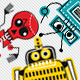 Q Bots: Robots in Retro Cartoon Style - GraphicRiver Item for Sale