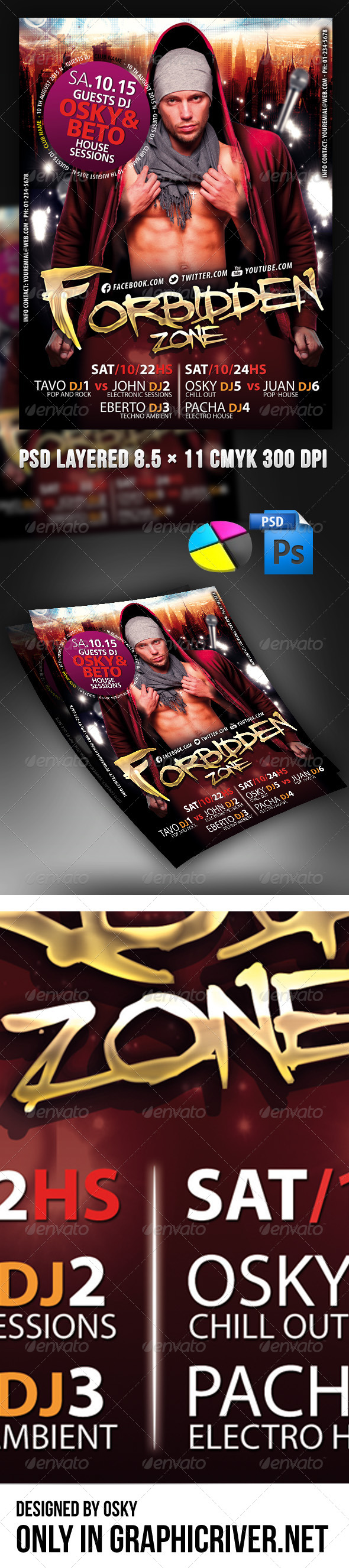 Forbidden Party - Clubs & Parties Events