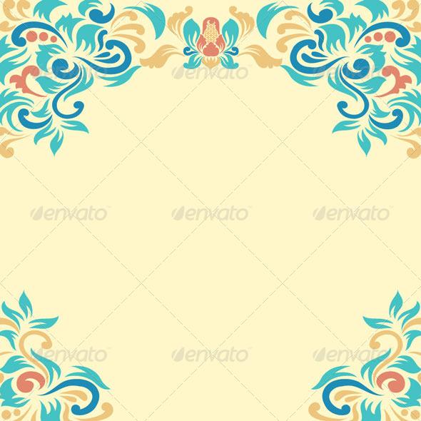Ornament Floral - Backgrounds Decorative