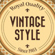 8 Refined Vintage Badges - GraphicRiver Item for Sale