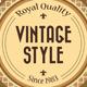 8 Refined Vintage Badges - GraphicRiver Item for Sale