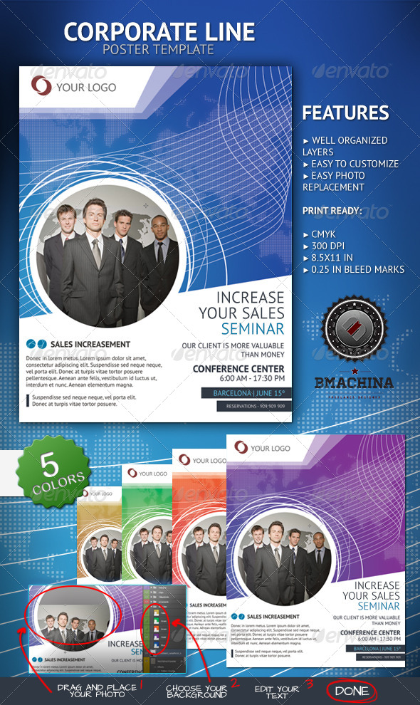 Increase Your Sales - Poster Template - Corporate Flyers