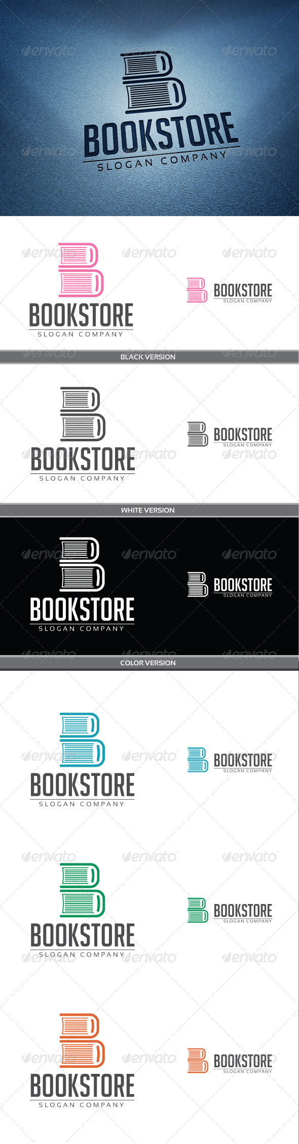 BookStore Logo - Objects Logo Templates