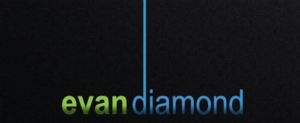 Rsz evan diamond logo black background