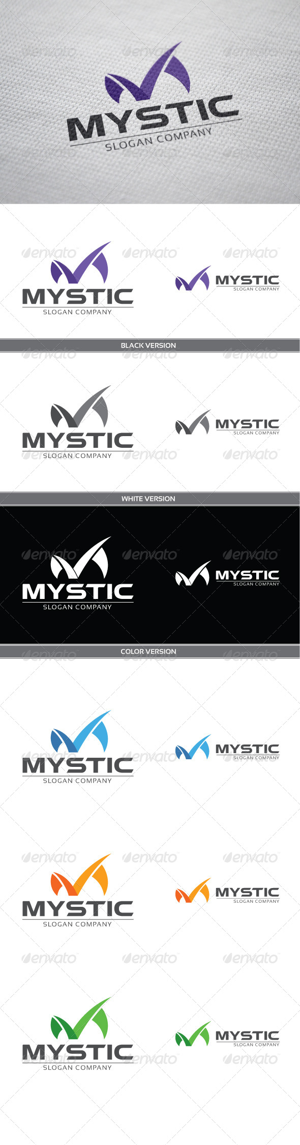 Mystic - Letters Logo Templates
