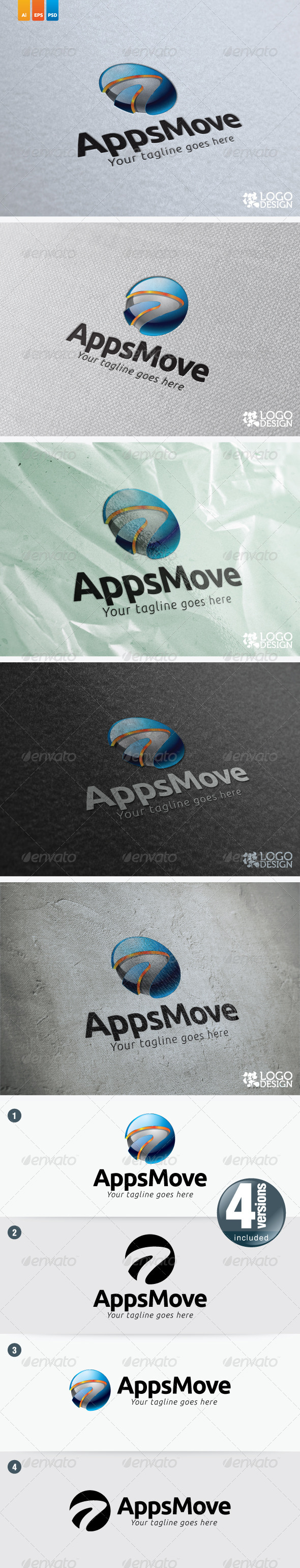 AppsMove - 3d Abstract