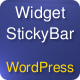 Widget Bar for WordPress