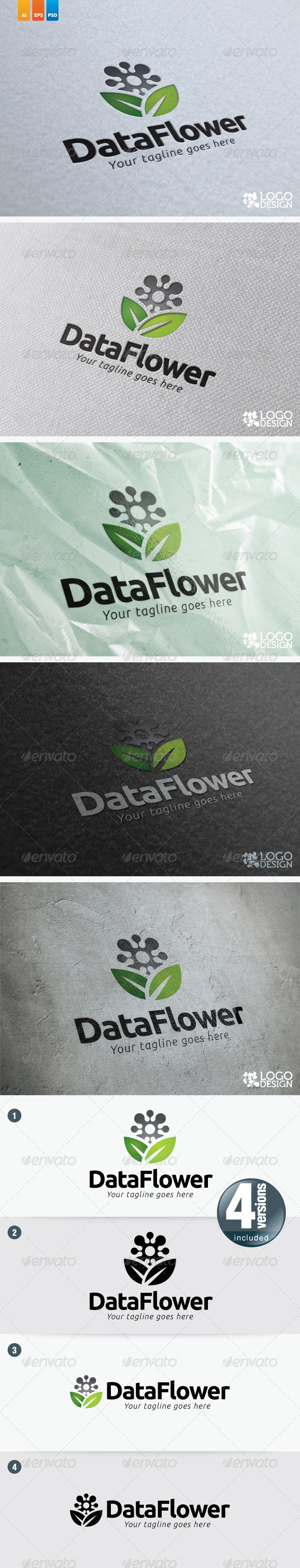 DataFlower - Vector Abstract