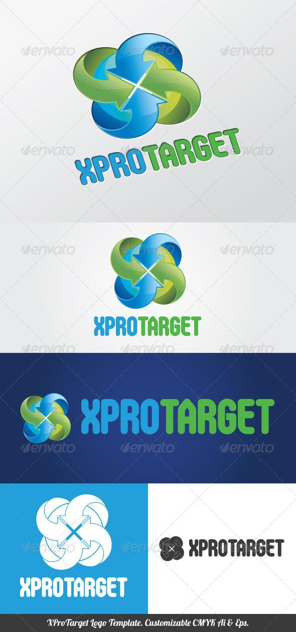 XProTarget Logo Template - Symbols Logo Templates