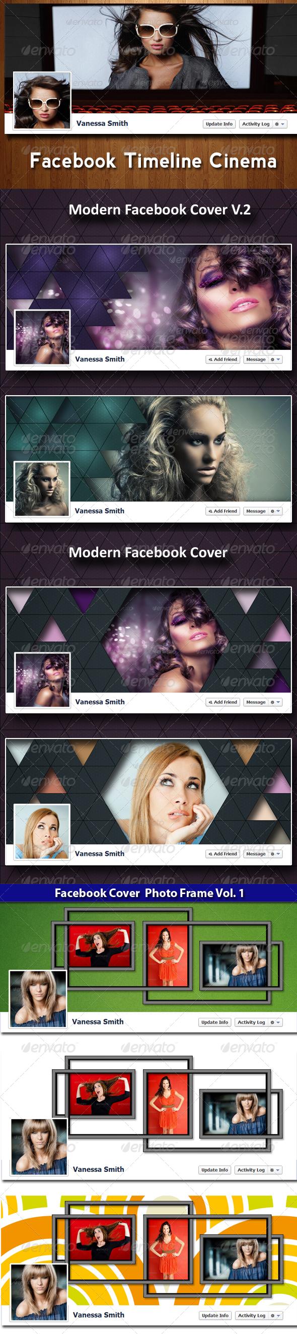 Facebook Timeline Covers Bundle - Facebook Timeline Covers Social Media