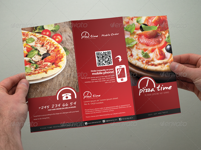 food menu trifold broshure v1 by gokhankara graphicriver