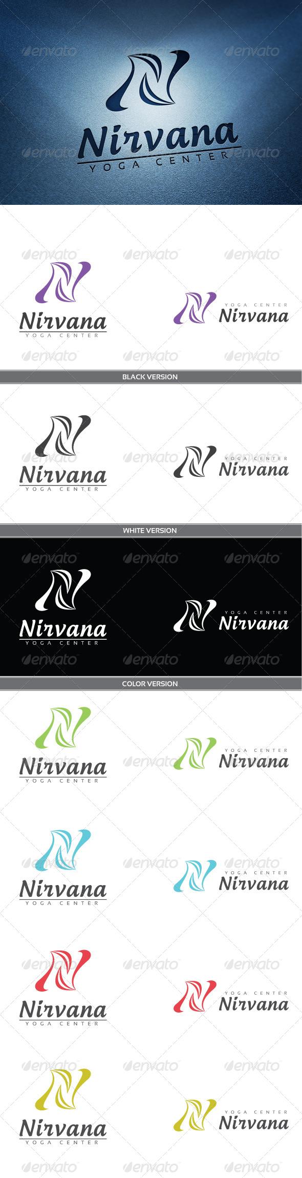 Nirvana - Letters Logo Templates
