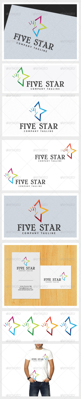 Five Star - Symbols Logo Templates