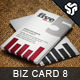 Business Card Design 8 - GraphicRiver Item for Sale