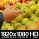 Choosing Green Apples to Buy at the Supermarket  - VideoHive Item for Sale