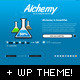 Alchemy - Under Construction Template + WP Theme Nulled