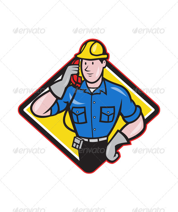 Telephone Repairman - People Characters