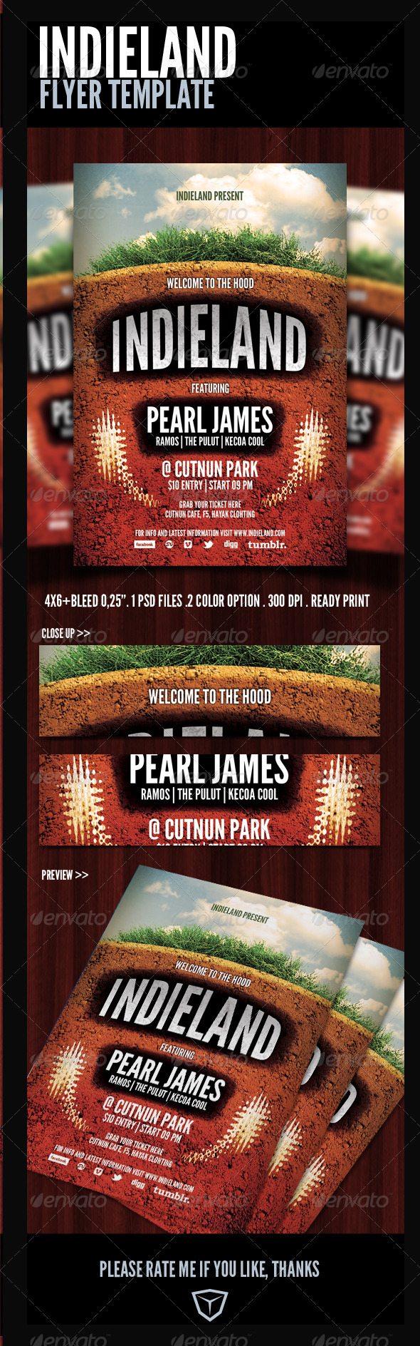 Indie Flyer/Poster - Events Flyers