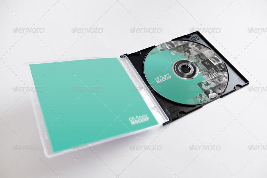 CD Cover Mockup by CarlosViloria | GraphicRiver