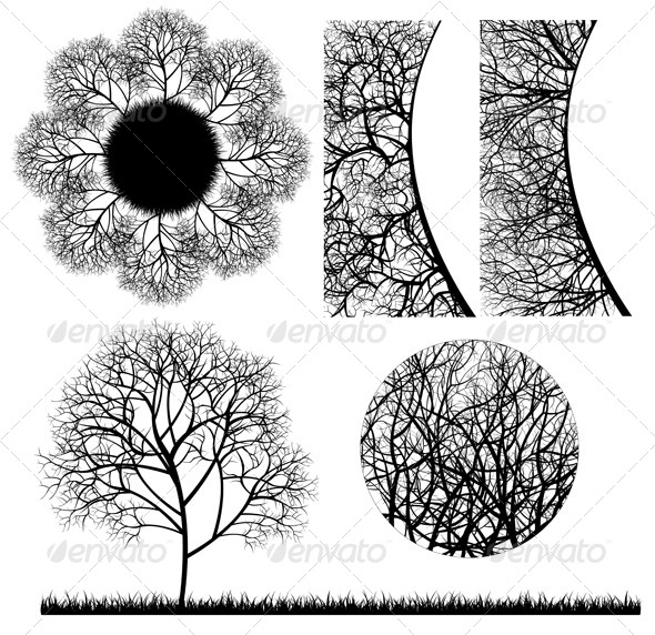Tree Design Elements - Nature Conceptual