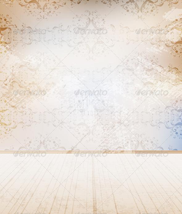 Interior Scene - Backgrounds Decorative
