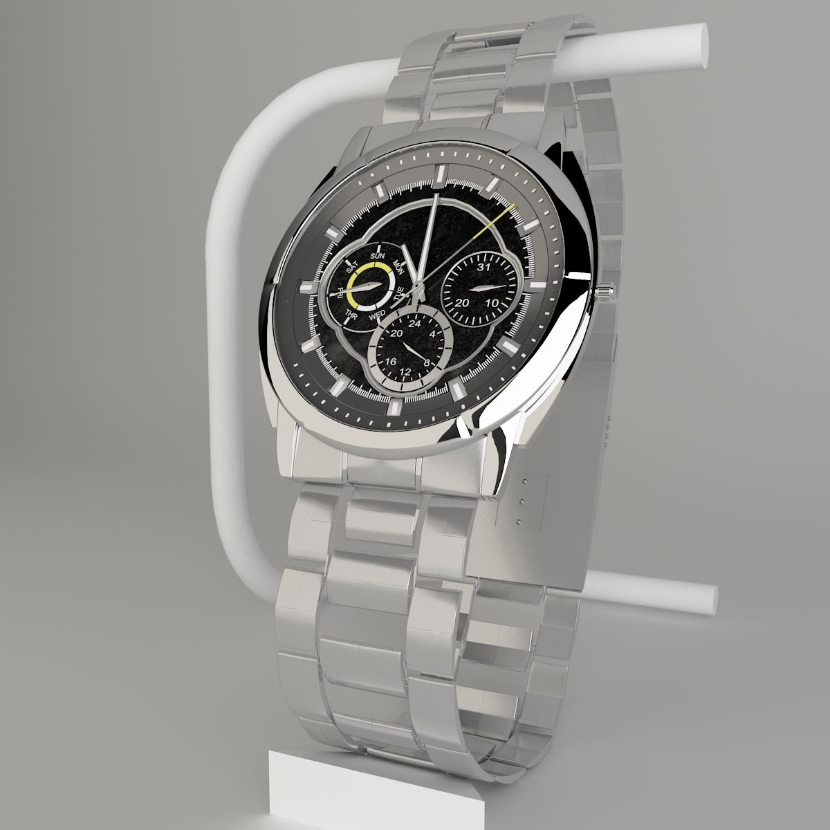 Casio Edifice Wrist Watch - 3DOcean Item for Sale