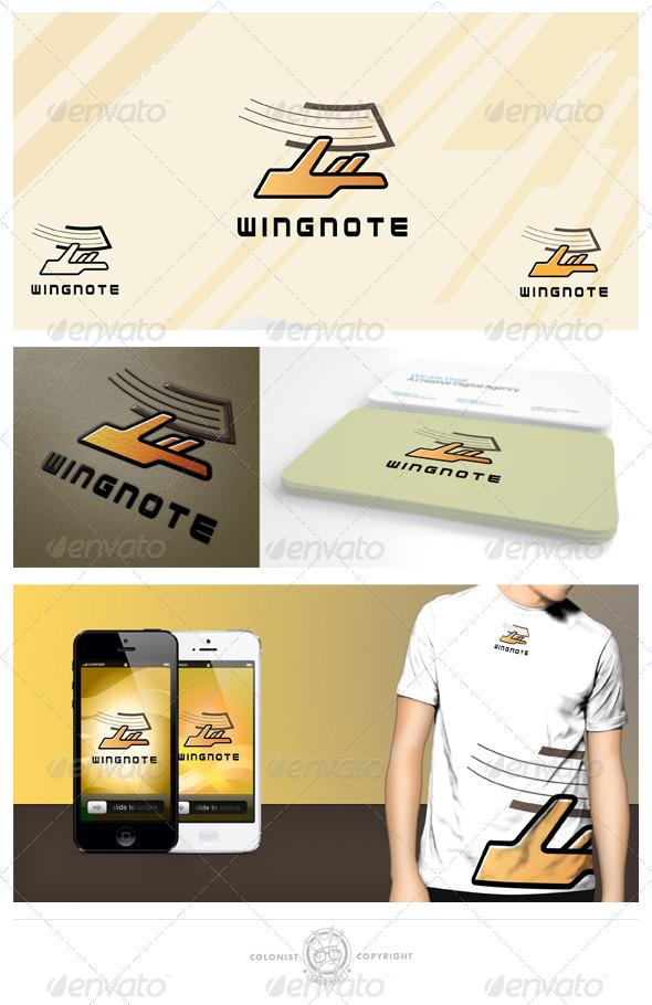 Wingnote Logo - Humans Logo Templates