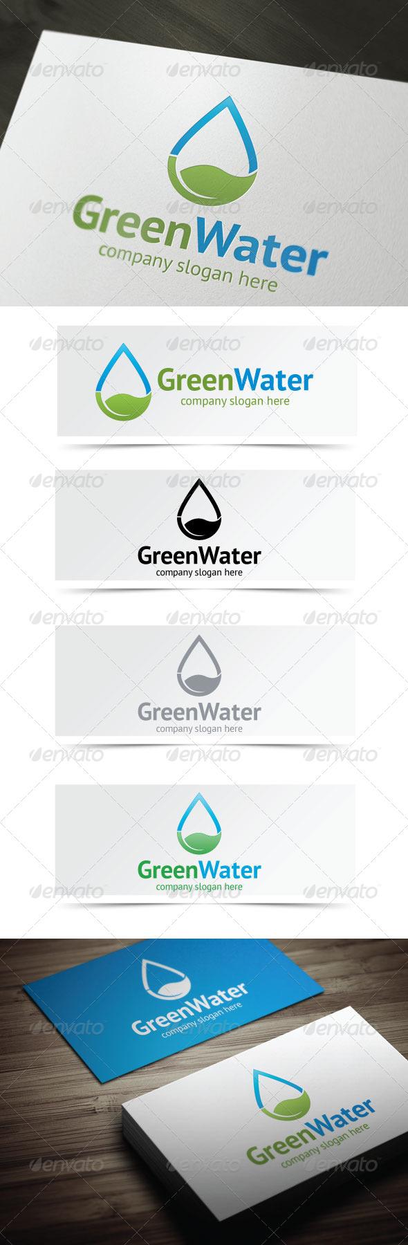 Green Water - Nature Logo Templates
