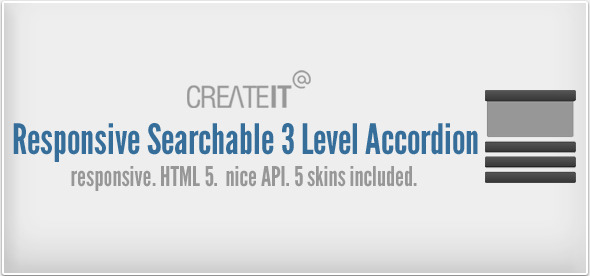 Responsive Searchable 3 Level Accordion For Wordpress - CodeCanyon Item for Sale