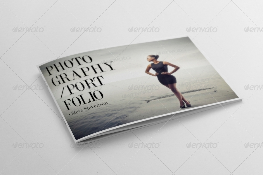 Photography Portfolio Template By Andre GraphicRiver - Photography portfolio template