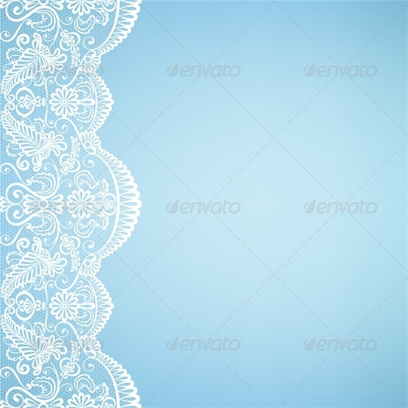 Template for Wedding Invitation or Greeting Card  - Backgrounds Decorative