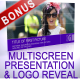 Multi Screen Presentation & Logo Reveal - VideoHive Item for Sale