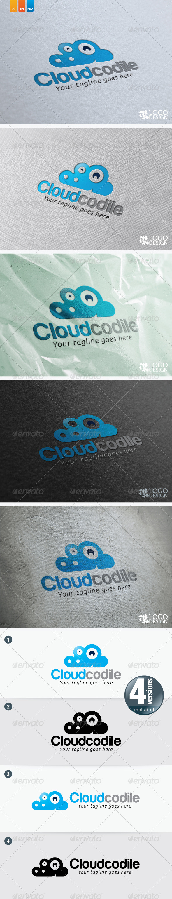 Cloudcodile - Animals Logo Templates