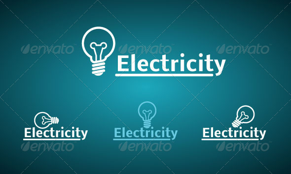 Light Bulb - Objects Logo Templates