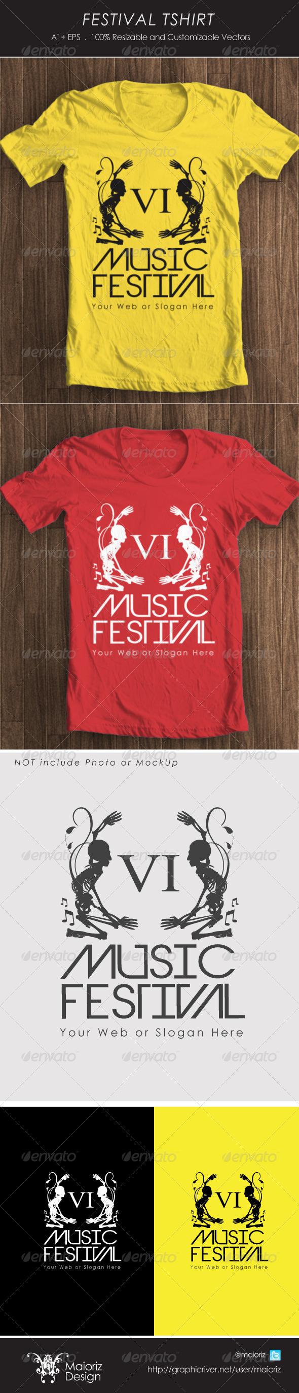 Festival Tshirt - T-Shirts