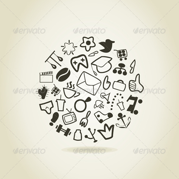 Abstract Drawing - Miscellaneous Vectors