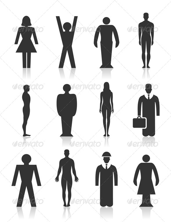 Icon the person - People Characters