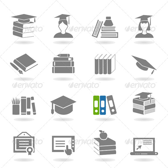 School an Icon 2 - Miscellaneous Vectors