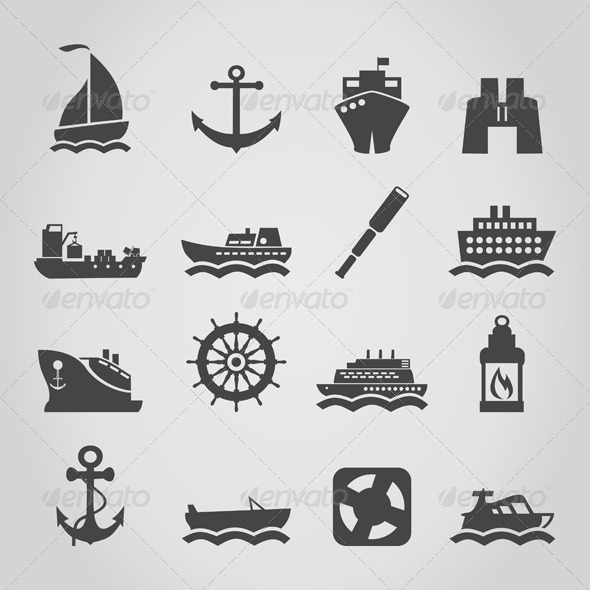 Ship an Icon - Man-made Objects Objects