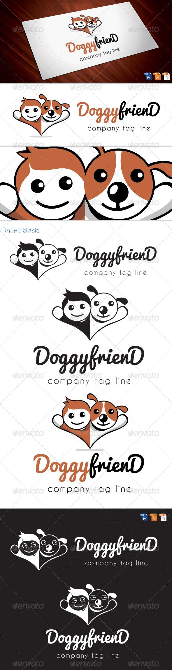 doggyfriend - Animals Logo Templates
