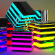 3D Glowing Cubes - GraphicRiver Item for Sale