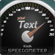 Analog Speedometer Icon
