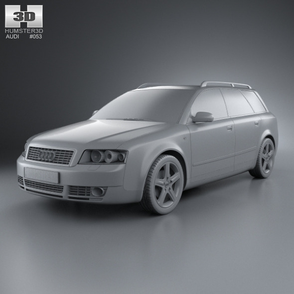 Audi A4 2002 Price: Audi A4 (B6) Avant 2002 By Humster3d