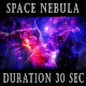 Birth Of Space Nebula - VideoHive Item for Sale