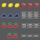 Set of Slot Combination - GraphicRiver Item for Sale